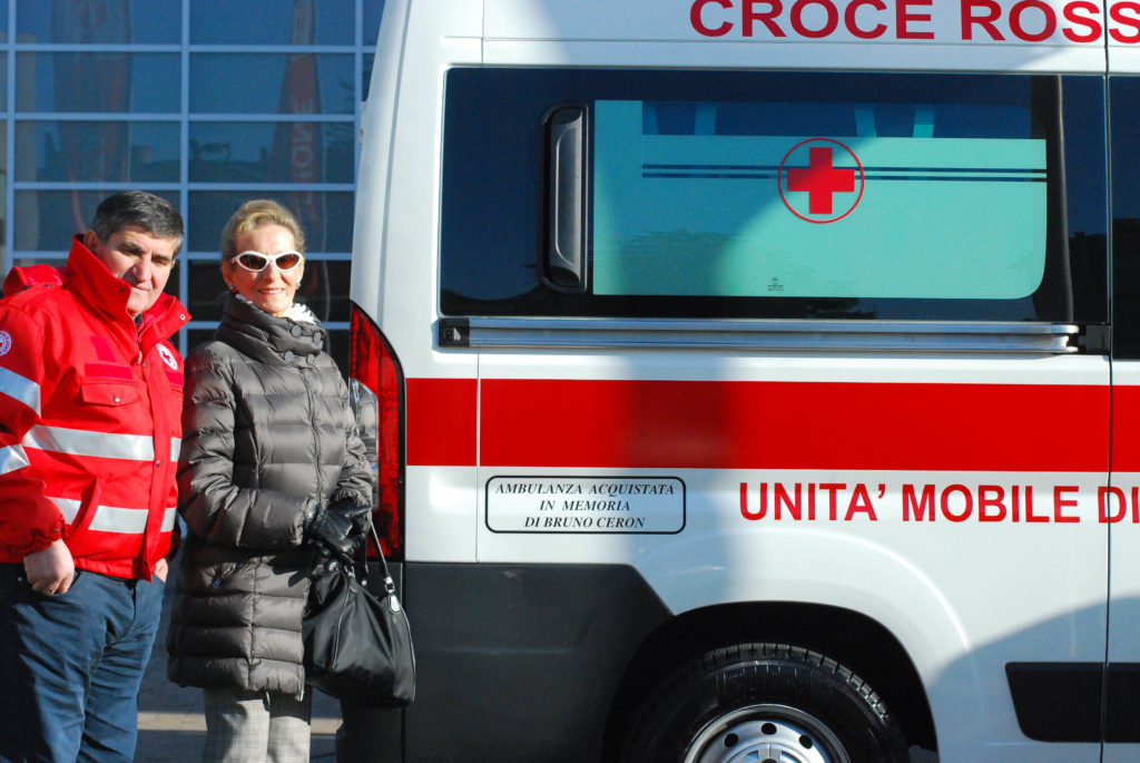 Ambulanza dedicata